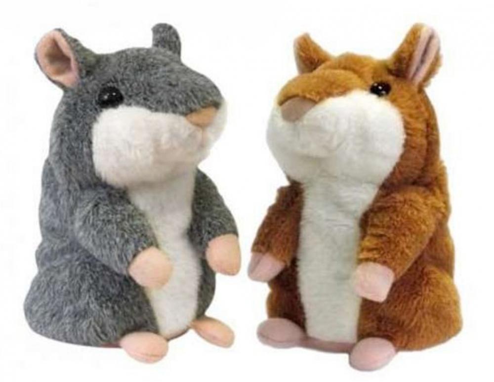 Говорящий хомяк игрушка-повторюшка оптом - 1