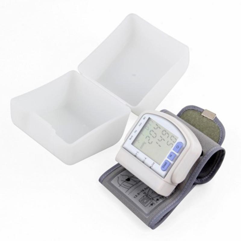 Цифровой тонометр на запястье Blood Pressure Monitor CK-102S оптом - 1