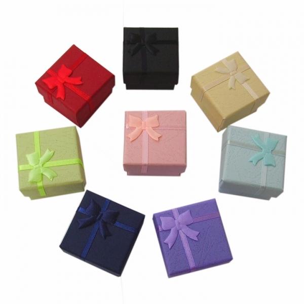 Подарочные коробочки для бижутерии мини оптом - 2