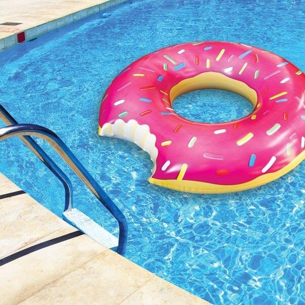 """Круг для плавания """"Пончик"""" оптом - 1"""