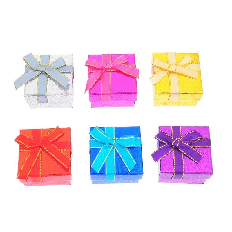 Подарочные коробочки для бижутерии мини оптом - 1