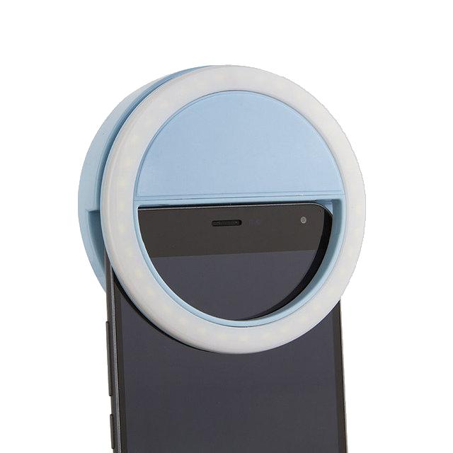 Световое кольцо для селфи  Selfie Ring Light (от батареек) оптом - 2