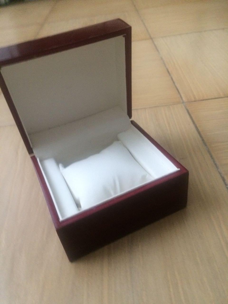 Коробка для часов красное дерево оптом - 3