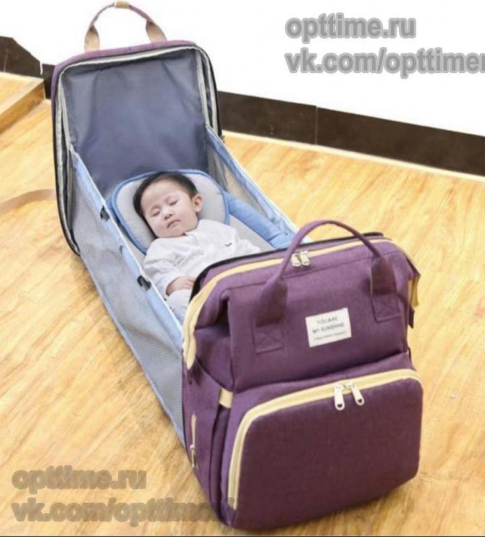 Рюкзаки для мам 2 в 1 Оптом! - 1