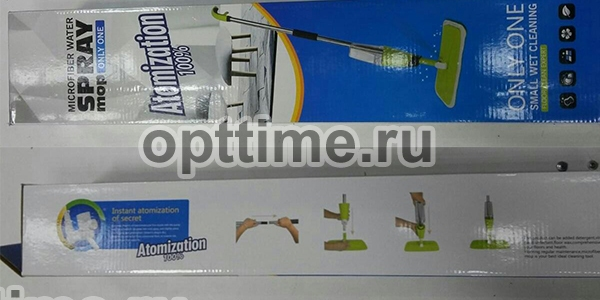 Швабра Microfiber water spray mop only one оптом - 2