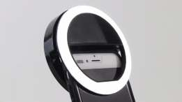Световое кольцо для селфи  Selfie Ring Light (от батареек) оптом - 1