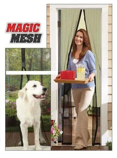 Шторы магнитные на дверь Magic Mesh оптом - 1