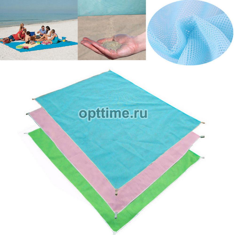 Пляжная подстилка анти-песок Sand Free Mat оптом - 1