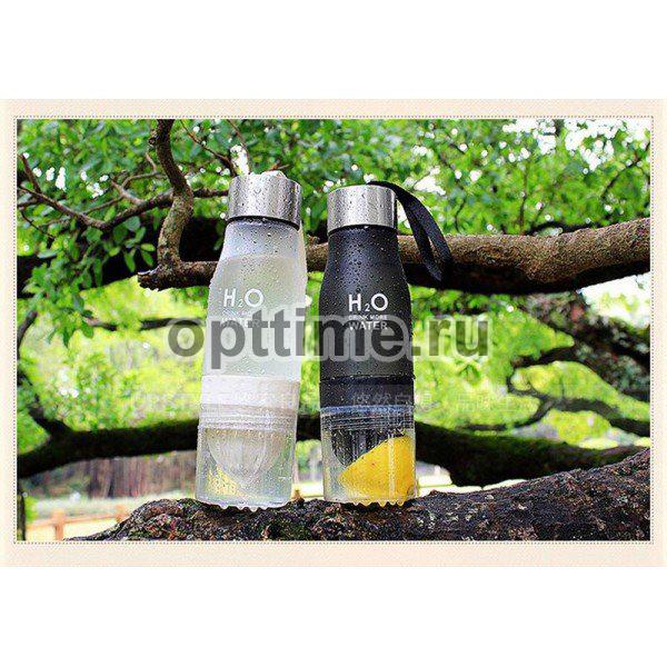 Спортивная бутылка H2O с соковыжималкой оптом - 4