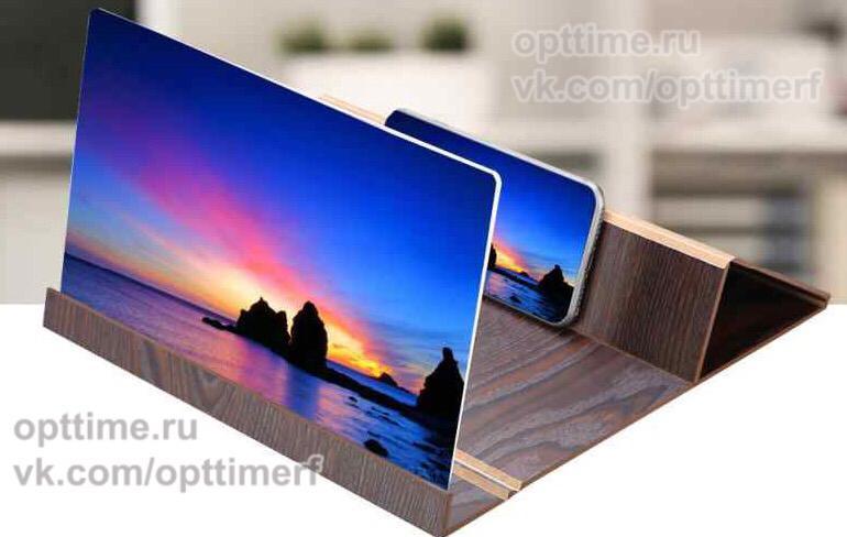 Деревянный 3 D увеличитель экрана оптом - 1
