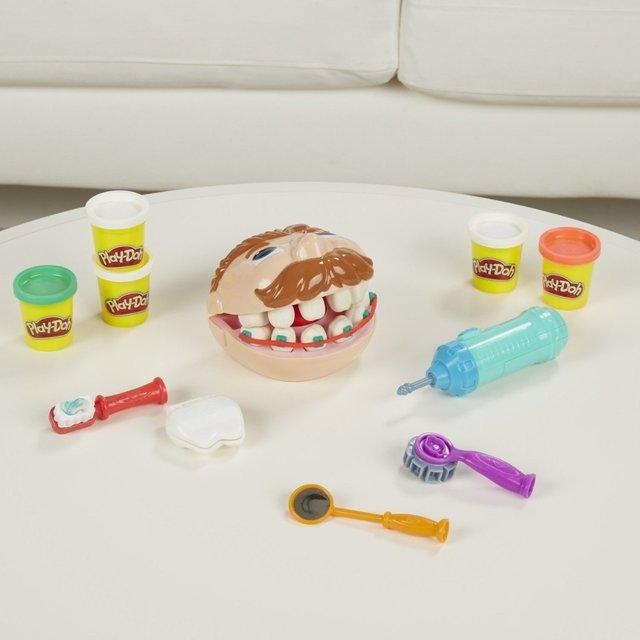 Детский набор Зубастик Color Mud оптом - 3