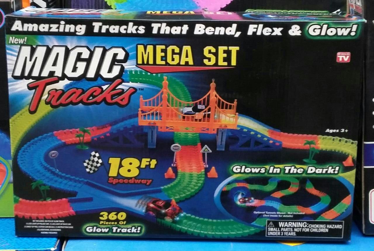 Игровой набор Magic Tracks 360 деталей с мостом оптом - 1