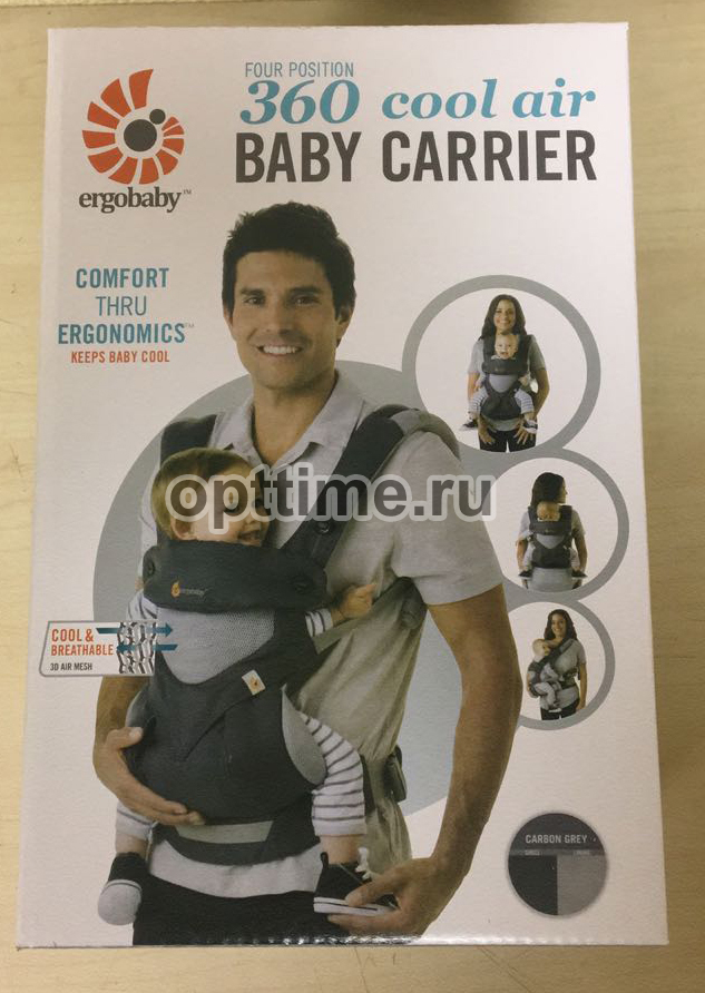 Эрго рюкзак Ergobaby 360 Cool Air baby carrier оптом - 2
