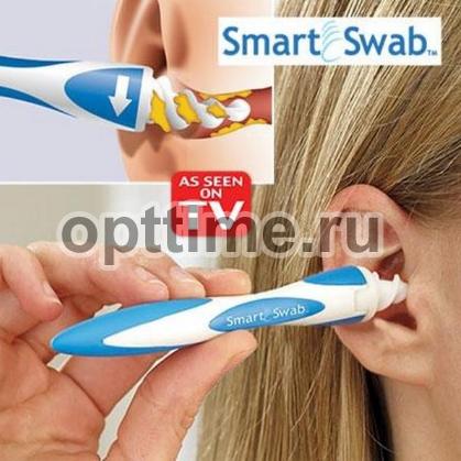 Прибор для чистки ушей Smart Swab оптом - 1