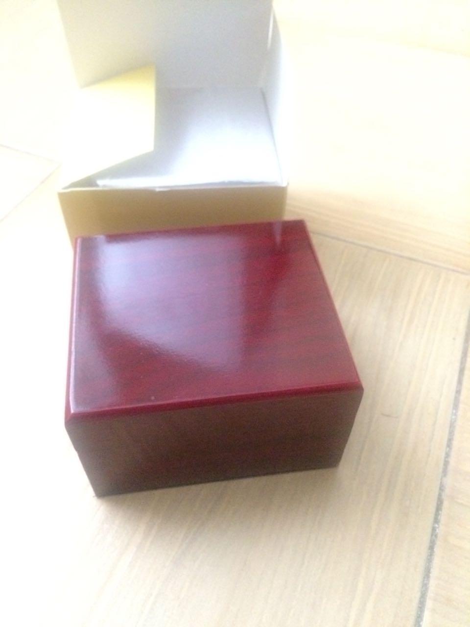 Коробка для часов красное дерево оптом - 2