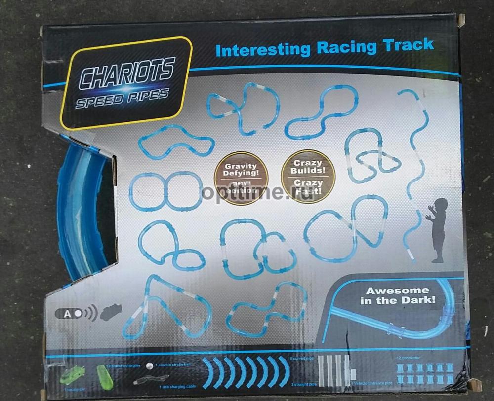 Трубопроводные гонки Chariots Speed Pipes - 27 деталей оптом - 1