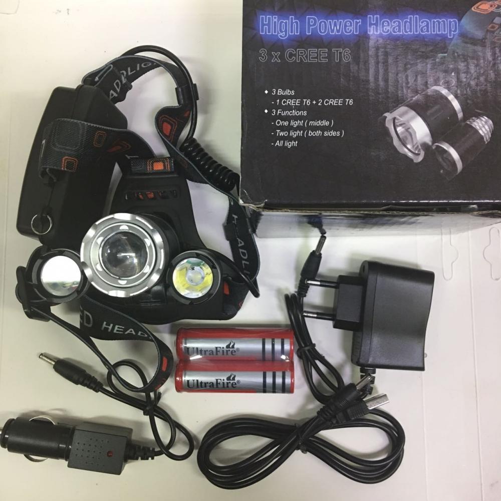 Налобный фонарь High Power Headlamp оптом - 3