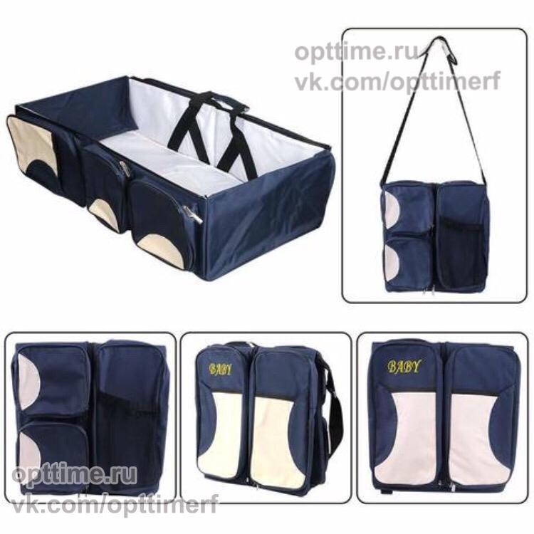 Рюкзак и кровать-переноска для малыша оптом - 1