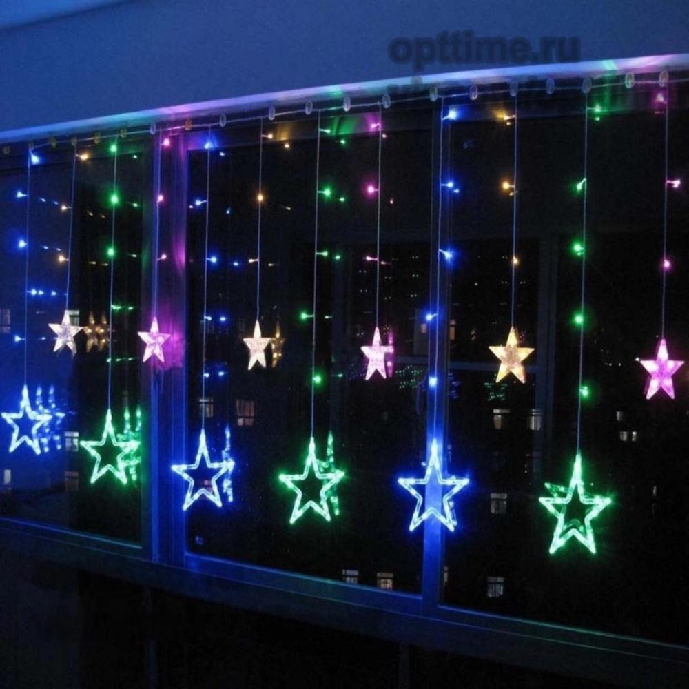 Светодиодная гирлянда Звезды Five-pointed Star оптом - 2