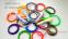 Набор пластика для 3D ручки из 20 колец  оптом - 1