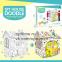 Игровой картонный домик-раскраска оптом - 1