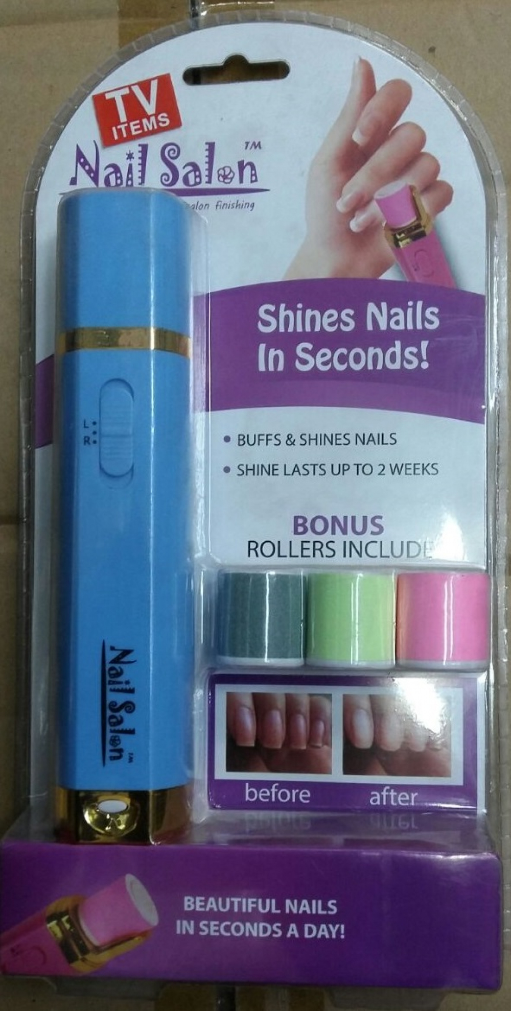 Машинка для маникюра Shines Nails In Seconds оптом - 17535